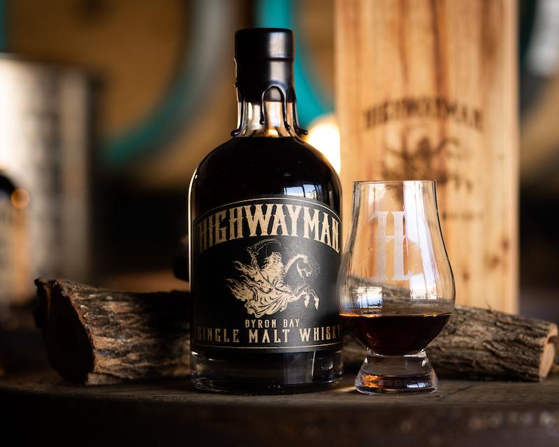 hunter blog highwayman whisky bottle