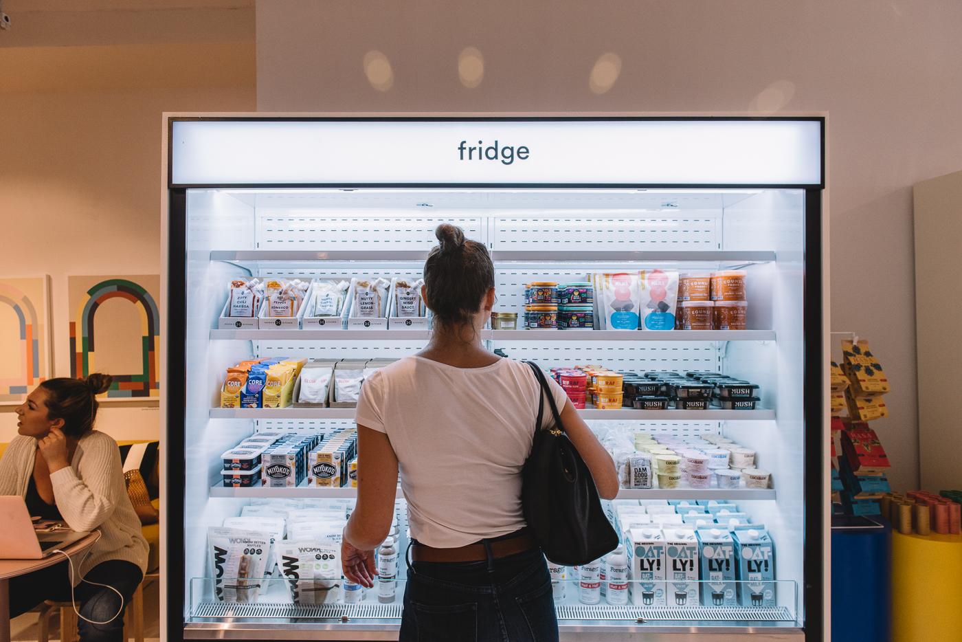 pop up grocer hunter fridge