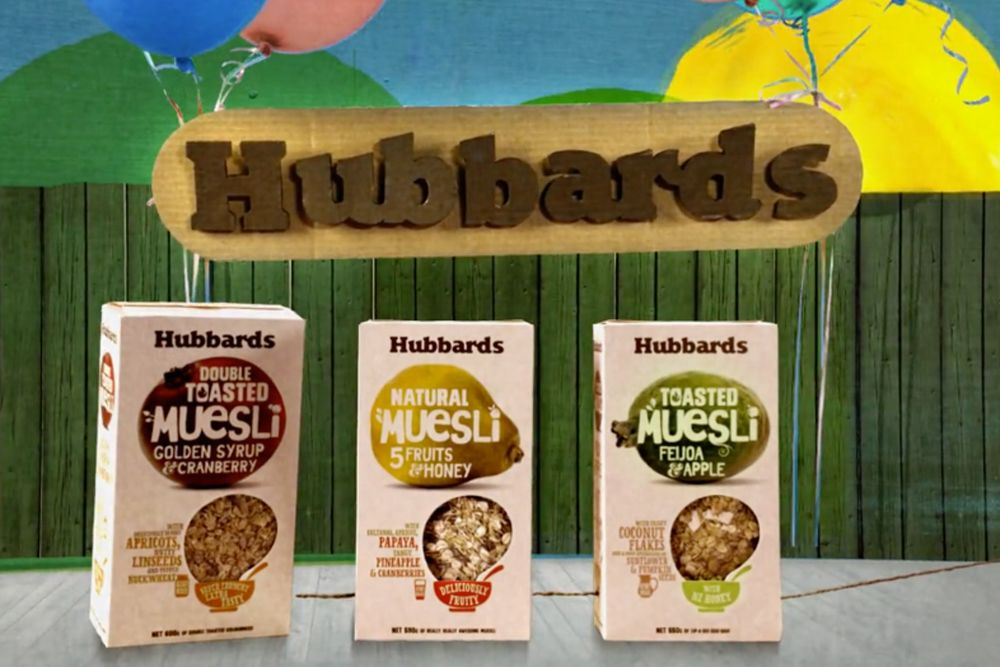 hunterand projects hubbards foods brand campaign 1
