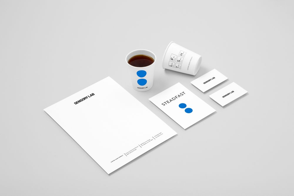 hunterand projects sensory lab brand identity 1